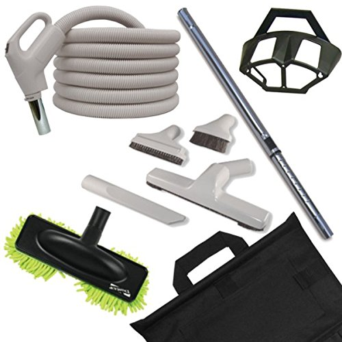 Deluxe Hard Floor Cleaning Set with 30-foot Gas Pump Style Handle Hose