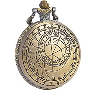 SIBOSUN Pocket Watch Doctor Who Confession Dial Pattern Dr. Who Quartz Chain Box