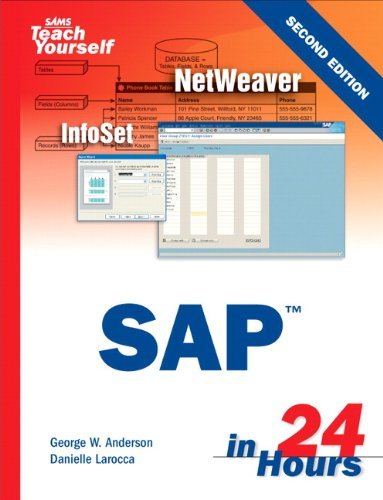 Download Sams Teach Yourself SAP in 24 Hours (2nd Edition) Pdf