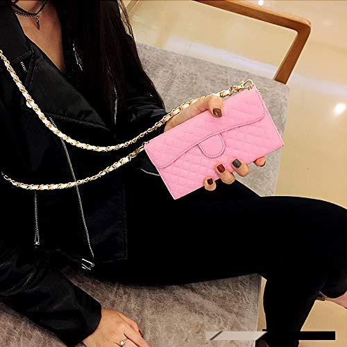 83ce3cbca182 Amazon.com: iPhone Xs Max Chain Wallet Case, SelliPhone Luxury ...