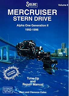 Mercruiser stern drive shop manual 1995 1997 alpha one bravo one mercruiser stern drives 1992 1996 volume ii alpha one generation ii 1992 1996 fandeluxe Images