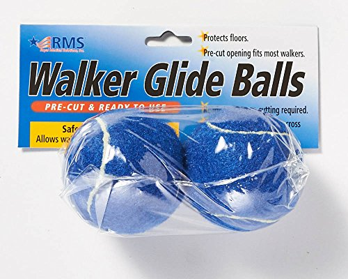 RMS Walker Glide Balls - Blue