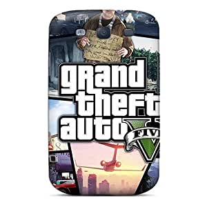 DaMMeke Fashion Protective Grand Theft Auto 5 Case Cover For Galaxy S3