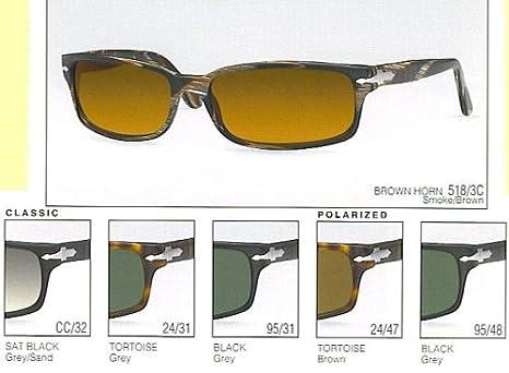 Amazon.com: Persol 2721-S Sunglasses(Color-Code=CC/32 - Sat ...