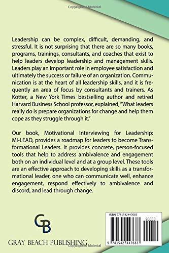 Motivational Interviewing for Leadership: Mi-Lead - Livros