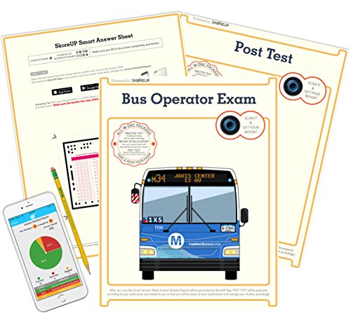 (Spanish Version) Cape Coral FL Bus Operator Exam, Florida Bus Driver's License Test Prep, Study Guide
