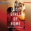 The Lost Girls of Rome Audiobook by Donato Carrisi Narrated by David Doersch