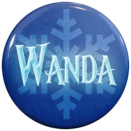 Buttonsmith® Wanda Winter Ice Name (Wanda Hair Costume)