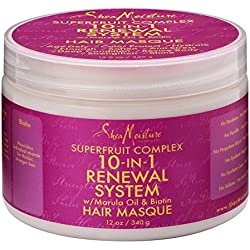 SheaMoisture Superfruit Complex 10-In-1 Renewal System Hair Masque, 12 oz