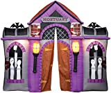 HALLOWEEN INFLATABLE MORTUARY HAUNTED HOUSE ARCHWAY