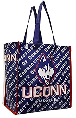 University of Connecticut Reusable Shopping Tote Bags(4 Pack)