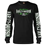 Harley-Davidson Military Long-Sleeve Graphic T-Shirt - Ramstein AB | Villain 2X