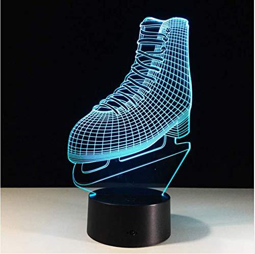 Pattini 3d Lampada A Led Illuminazione Per La Casa Scarpe Da