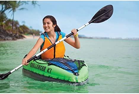 Kayak hinchable 1 plaza Challenger K1 Intex: Amazon.es ...