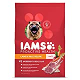 iams dog food lamb and rice - IAMS PROACTIVE HEALTH Adult Dry Dog Food Lamb and Rice, 38.5 lb. Bag