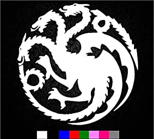 Amazon Com Game Of Thrones House Targaryen Sigil Vinyl