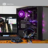 Cooler Master MCY-B5P2-KWGN-01  MasterBox Pro 5 RGB ATX Mid-Tower w/ Front DarkMirror Panel, Tempered Glass Side Panel And 3x 120mm RGB Fans w/1 to 3 Splitter Cable