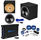 Rockford Fosgate P3D4-15 15'' Subwoofer+Sealed Enclosure+750W Amplifier+Wire Kit