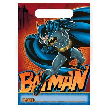 Batman Heroes and Villains Treat Bags (8) Party Accessory