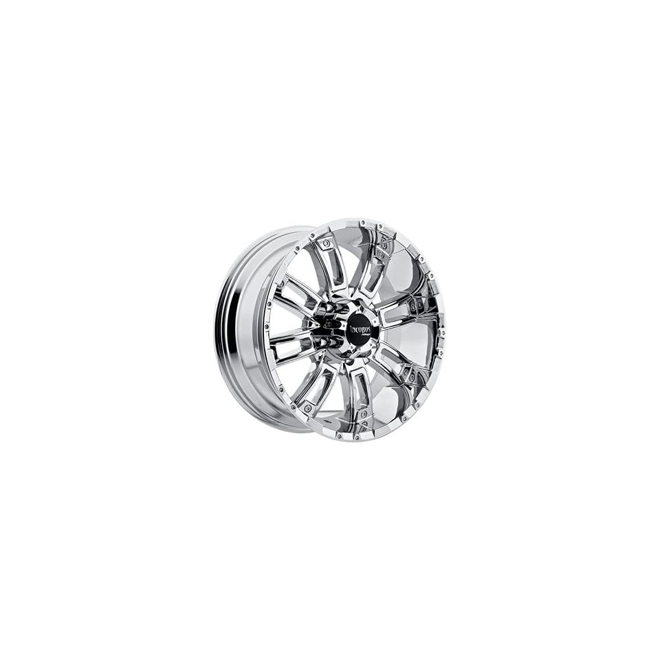 Incubus Crusher 20x9 Chrome Wheel / Rim 6x135 with a 12mm Offset and a 87.00 Hub Bore. Partnumber 816290653+12C