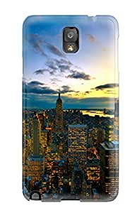 Christopher B. Kennedy's Shop Scratch-free Phone Case For Galaxy Note 3- Retail Packaging - New York City Colors 1784889K15469986