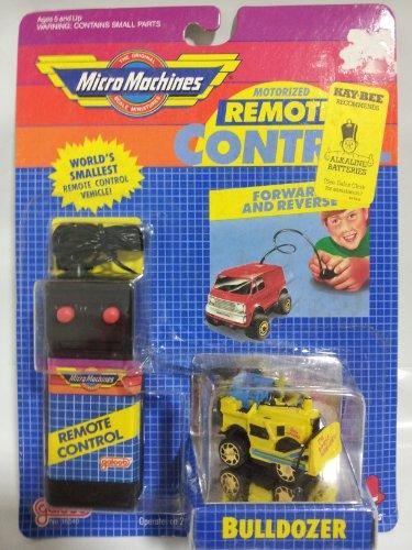- Micro Machines Motorized Remote Control Bulldozer