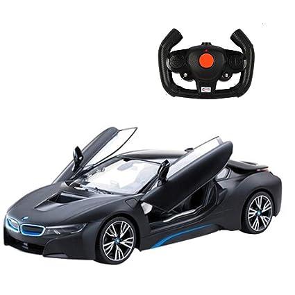 Amazon Com Rastar Rc Cars Bmw I8 Radio Remote Control Cars 1 14