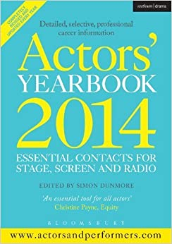Book Actors' Yearbook 2014 (Methuen Drama Modern Plays) by Simon Dunmore (2013-12-05)