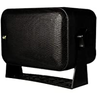 Poly-Planar MA-9060-B 6x9 Box Speaker, Black, 100W,