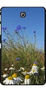 Funda para Samsung Galaxy Tab 4 (7 pulgadas) - Flor Silvestre Azul