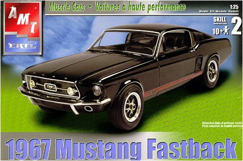 31550 1/25 '67 Mustang GT (Mustang Fastback Roof)