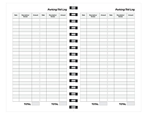 Action Mileage Book 575 X 85 Inches Perfect For Recording Miles Gas Use And More Ideal For Small Business Owners Independent Contractors Or Corporations With A Fleet Of Cars