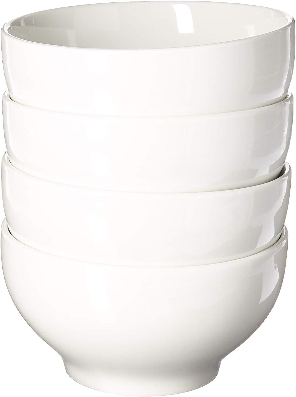 Oxford Porcelain COMINHKG071519 Biona Bowls (Set of 4)-White