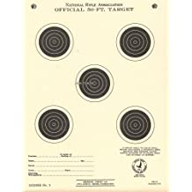 """(100) TQ1/5 Paper Shooting Targets Silhouette 7""""x9.25"""" MADE IN USA"""