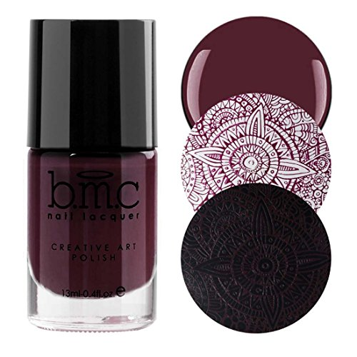 BMC Snowflake Waltz Collection: Toy Soldier - Dark Plum Maro