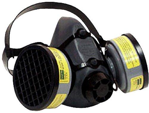 5500Series Media máscara con 2orgánico Vapor & ácido Cartuchos de gas), tamaño large