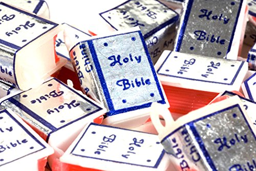 (Plastic Vintage Bible Charms - Pack of 100)