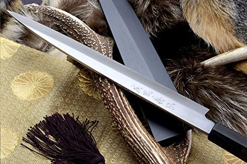 Yoshihiro VGYA300SH Stainless Hongasumi Yanagi Sushi Sashimi Japanese Chef knife, 11.8'', Rosewood by Yoshihiro (Image #4)
