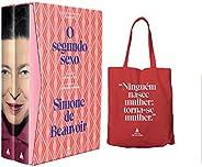 Box Segundo Sexo 70 Anos + Brinde Sacola Simone De Beauvoir - Exclusivo Amazon