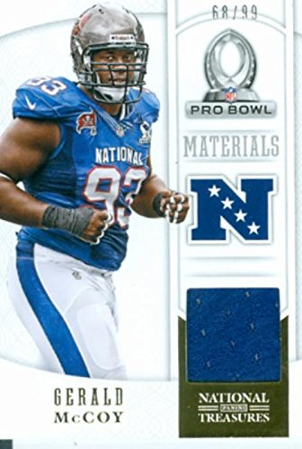 competitive price 51dc2 f2ed4 Gerald McCoy player worn jersey patch football card (Tampa ...