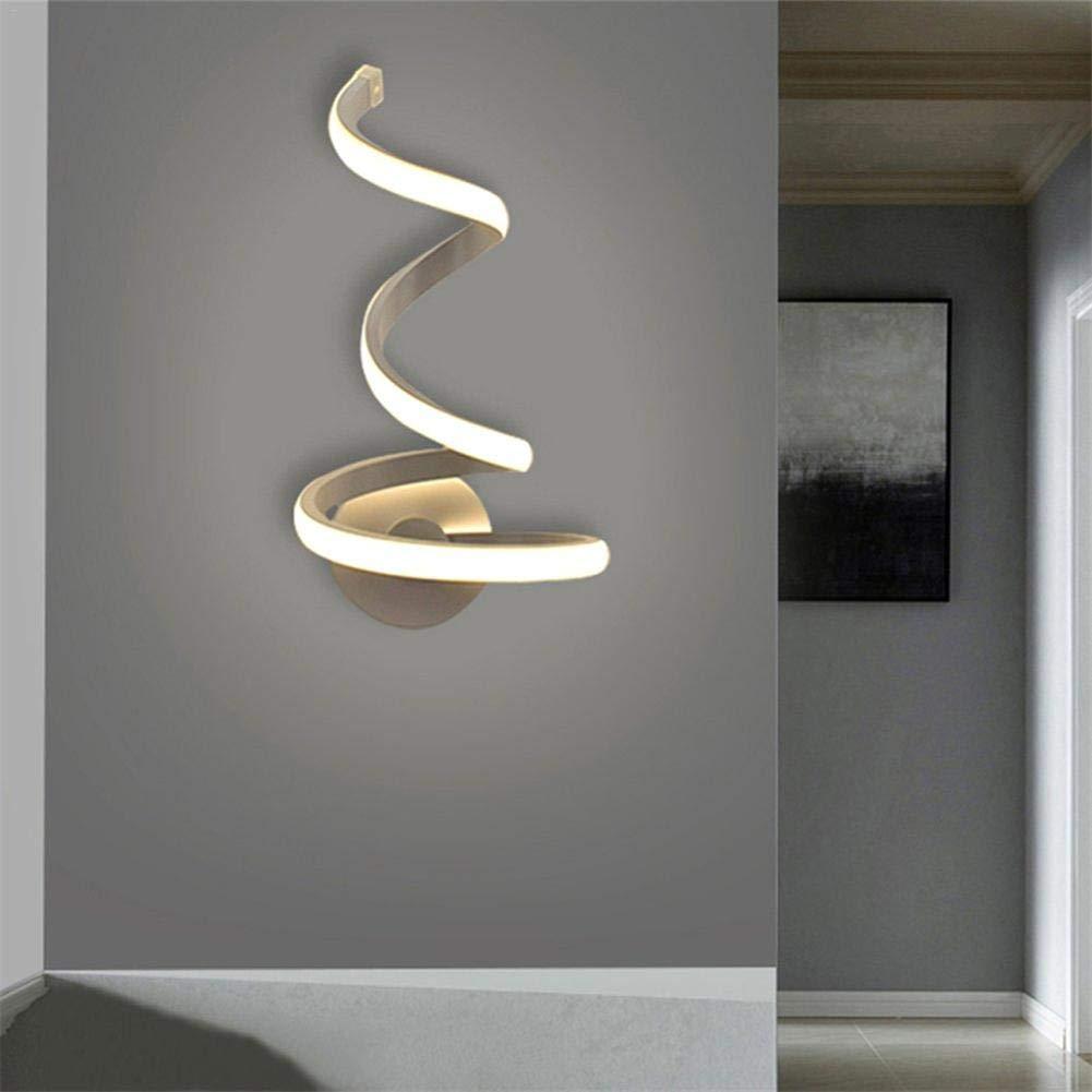 Goodtimera Wave LED Wandleuchten Moderne einfache Wandleuchten Kreative Nachttischleuchten