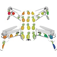 Skin For Yuneec Breeze 4K Drone – Rainbow Pineapples | MightySkins Protective, Durable, and Unique Vinyl Decal wrap cover | Easy To Apply, Remove, and Change Styles | Made in the USA