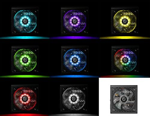 Thermaltake Smart RGB - Módulo de Fuente de 600 W, Color Negro ...