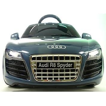 Audi R Spyder Electric V Ride On Car With Remote Licensed - Audi r8 6v car