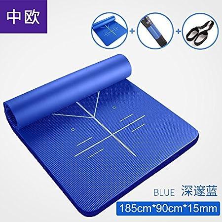 WEAF-Esterilla de yoga - Extra grueso de 10mm ...