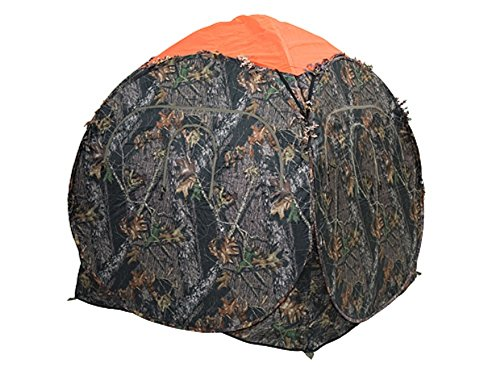 Ameristep Safety Ground Blind Cap fits Outhouse/Doghouse Blinds Polyester Blaze Orange ()