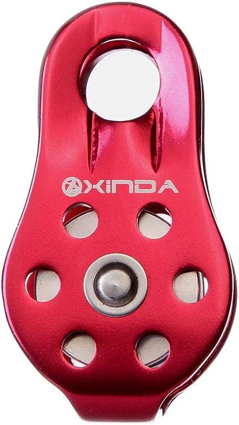 LIOOBO Kit de polea de Escalada de Acero Inoxidable para ...