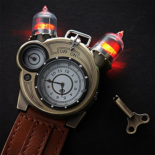 517VD lHafL - Tesla Steampunk Watch