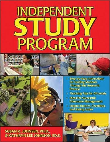 Book Independent Study Program: Complete Kit, 2E by Johnson Kathryn Johnsen Ph.D. Susan (2007-09-01)