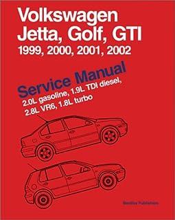 volkswagen jetta golf gti a4 service manual 1999 2000 2001 rh amazon com Direct Injection Valve Turbo Diesel